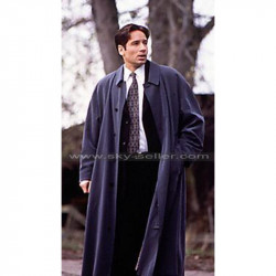 X-Files David Duchovny (Fox Mulder) Trench Coat