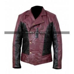 Last Stand Spiderman Costume Motorbike Leather Jacket