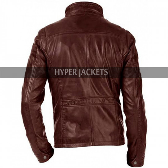 Arrow Season 5 John Diggle Brown Leather Jacket