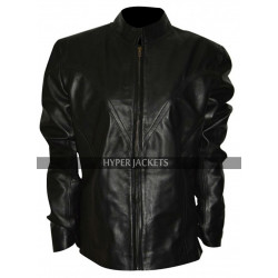 Scarlett Johansson Avengers Age Of Ultron Black Widow Costume Leather Jacket