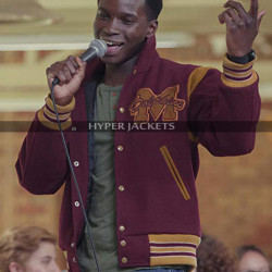 Kedar Williams-Stirling Sex Education Jackson Marchetti Varsity Jacket