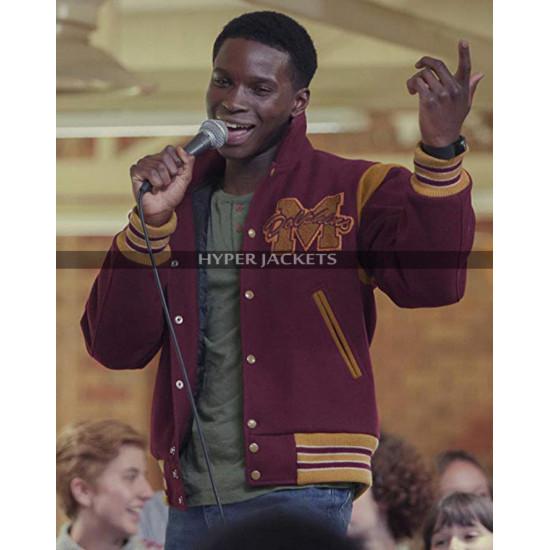 Kedar Williams-Stirling Sex Education Jackson Marchetti Varsity Jacket