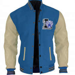 13 Reasons Why Justin Foley Liberty High Tigers Letterman Jacket