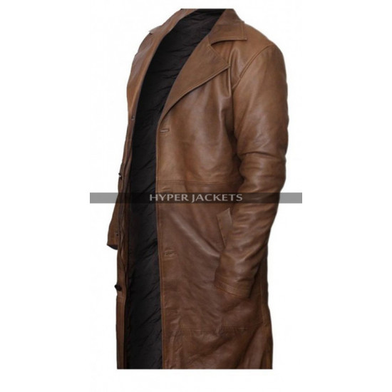 Dawn Of Justice Batman Vs Superman Ben Afflick Leather Coat