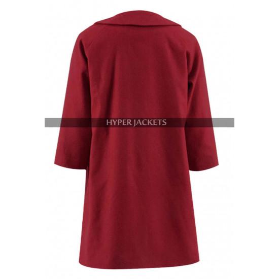 Kiernan Shipka Chilling Adventures of Sabrina Spellman Red Coat