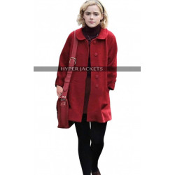 Kiernan Shipka Chilling Adventures of Sabrina Spellman Red Coat