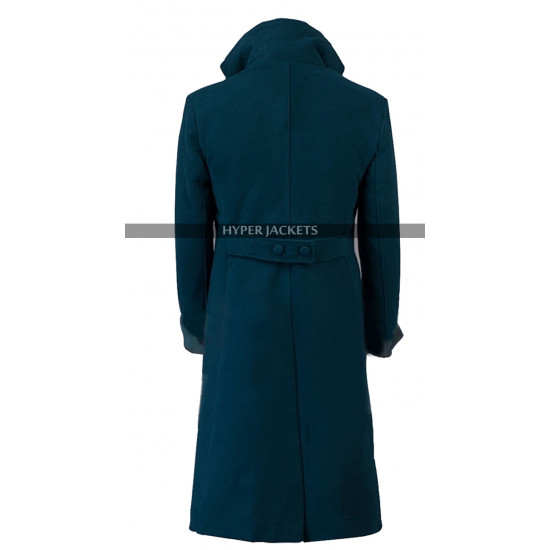 Newt Scamander Fantastic Beasts and Where to Find Them Blue Coat