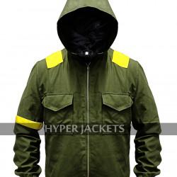 Twenty One Pilots Jumpsuit Tyler Joseph Green Cotton Hoodie Jacket