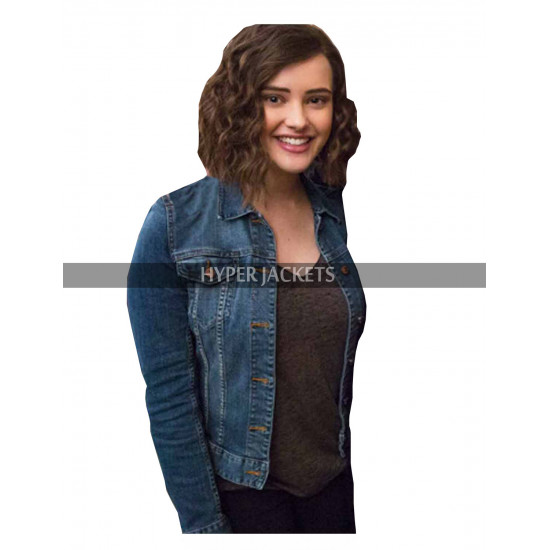 13 Reasons Why Costume Hannah Baker Denim Jacket