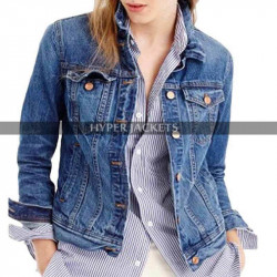 13 Reasons Why Costume Hannah Baker Denim Jacket