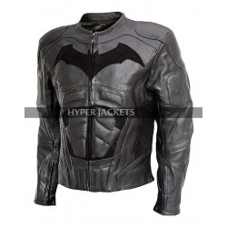 Batman Arkham Knight Costume Armored Motorcycle Padded Biker Leather Jacket