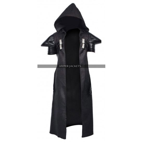 Overwatch Game Reaper Cosplay Costume Cotton Black Hoodie