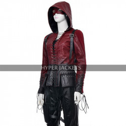 Green Arrow S4 Thea Queen Willa Holland Costume Jacket