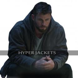 Thor Avengers Endgame Chris Hemsworth Grey Hoodie Cotton Jacket