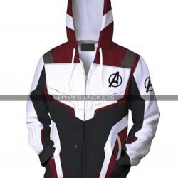 Avengers Endgame Quantum Realm Suit Costume Hoodie Jacket