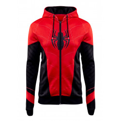 Spiderman Far From Home Peter Parker Costume Hoodie Jacket