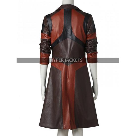 Guardian of Galaxy Vol 2 Gamora Costume Leather Coat