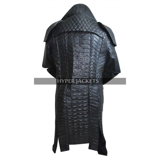 Ronan The Accuser Guardians of Galaxy Lee Pace Black Costume Leather Coat