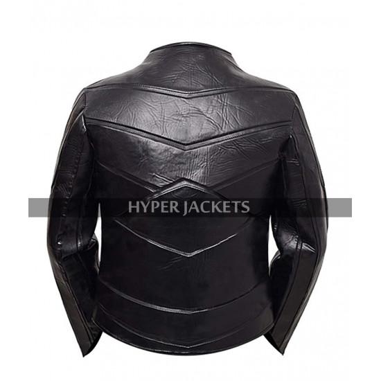 Hobbs And Shaw Costume Idris Elba Black Leather Jacket