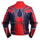 Spiderman Avengers Infinity War Tom Holland Costume Leather Jacket
