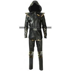 Ronin Avengers Endgame Clint Barton Cosplay Leather Jacket