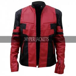 Deadpool 2 Wade Wilson Ryan Reynolds Leather Costume Red Jacket