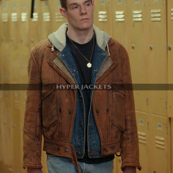 Sex Educatoion Adam Groff Leather Jacket