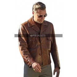 Rick Dalton Once Upon A Time In Hollywood Brown Leather Jacket