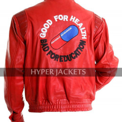 Akira Shotaro Kaneda Red Capsule Biker Leather Jacket