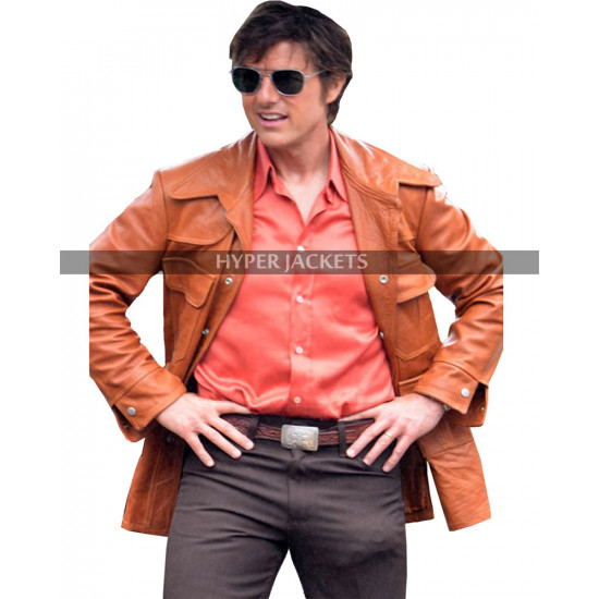 Barry Seal American Made Tom Cruise Leather Jacket