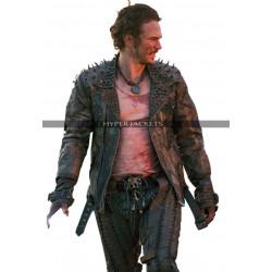 James Franco Future World Warlord Costume Leather Jacket