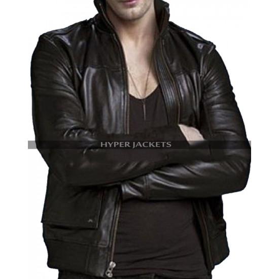 Eric Northman True Blood Black Leather Jacket