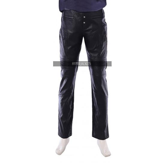 Dmc Devil May Cry 5 Dante Costume Black Leather Pants
