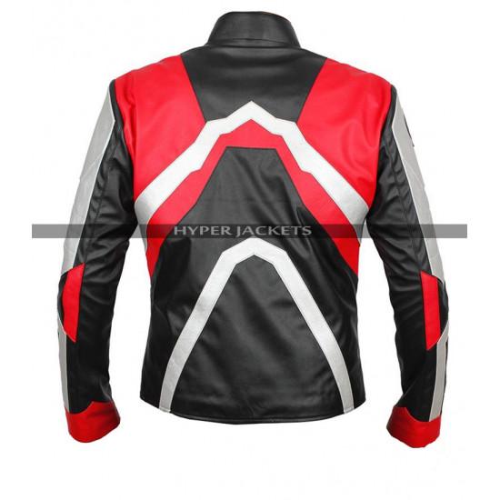 Avengers Endgame Quantum Realm Costume Leather Jacket