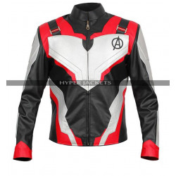 Avengers Endgame Quantum Realm Costume Leather Jacket