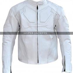 Oblivion Jack Black & White Leather Jacket