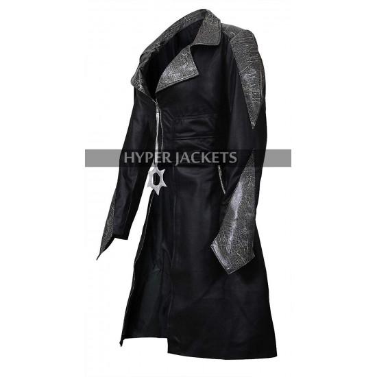 Caitlin Snow Flash Season 3 Killer Frost Black Leather Cosplay Coat