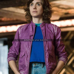 Glow Costume Ruth Wilder Leather Jacket