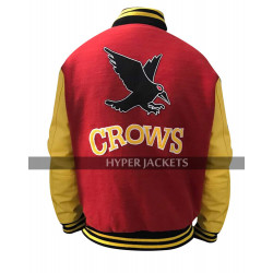 Superman Tom Welling Smallville Crows Letterman Varsity Bomber Jacket