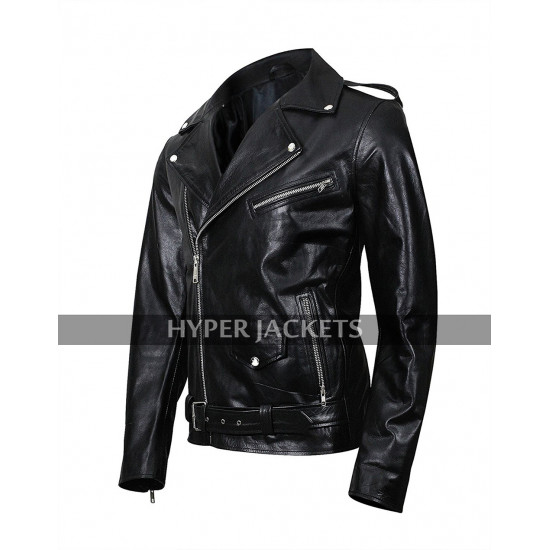 Jughead Jones Riverdale Southside Serpents Cole Sprouse Black Leather Jacket