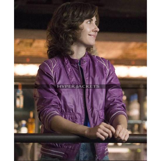 Glow Costume Ruth Wilder Leather Jacket
