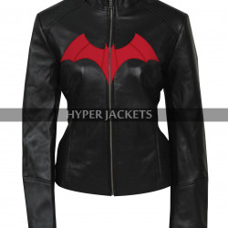 Batwoman Ruby Rose Cosplay Black Biker Leather Jacket