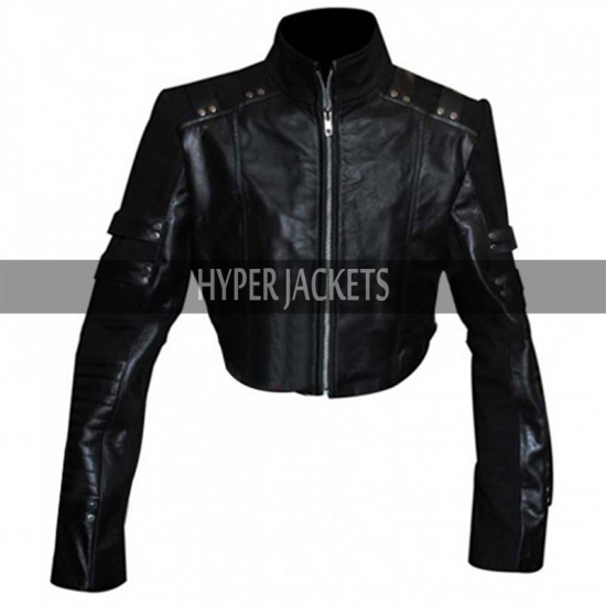 Black Canary Arrow Laurel Lance Leather Jacket