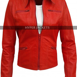 Jennifer Morrison Once Upon a Time Emma Leather Jacket