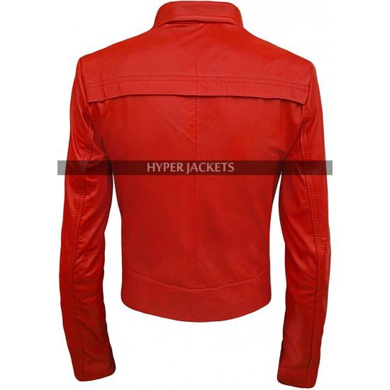 Jennifer Morrison Once Upon a Time Emma Leather Jacket