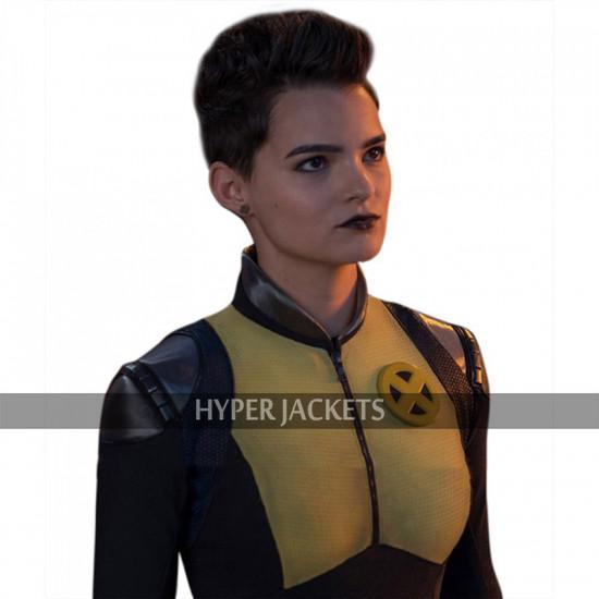 Deadpool 2 Negasonic Teenage Warhead Leather Costume Jacket