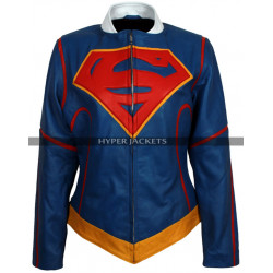 Supergirl Kara Danvers Costume Leather Jacket