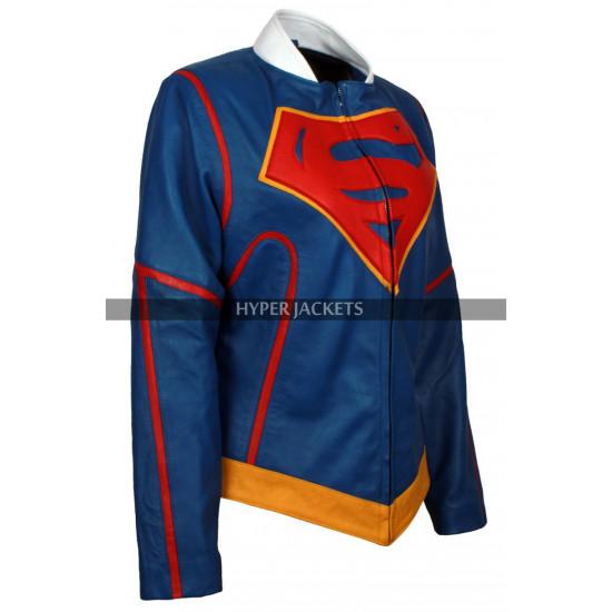 Supergirl Kara Danvers Costume Leather Jacket