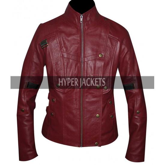 Guardians Of Galaxy Chris Pratt Maroon Unisex Jacket