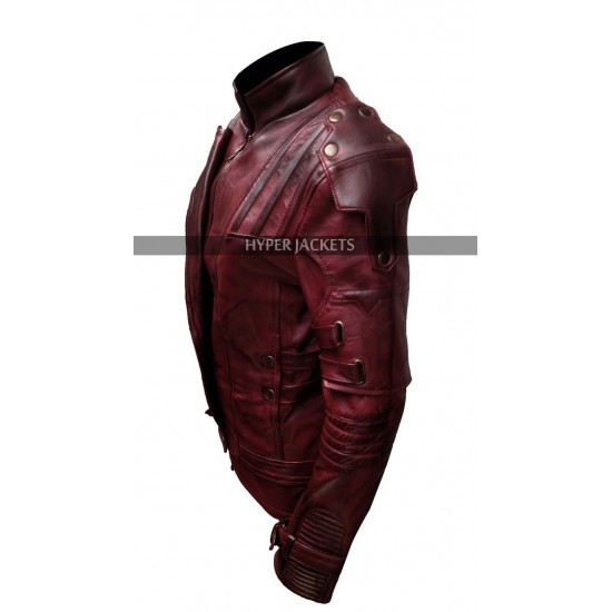 Guardian of Galaxy Vol 2 Costume Peter Quill Leather Jacket